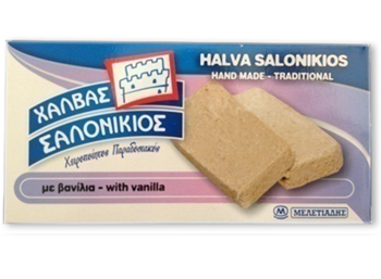 Sesame Halvah with Vanilla