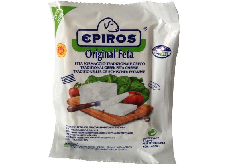 Feta cheese Epiros, vid, 200 gr