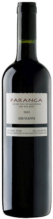 Paranga Red Dry, 2012, Kir-Yianni
