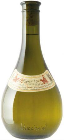 Kechribari Retsina White Dry, 500 ml, Stelios Kechris Domaine