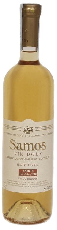 Vin Doux White Sweet, 2013, EOS Samos