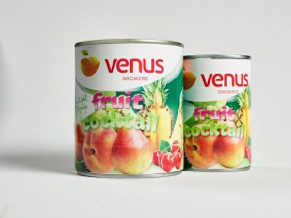 Compot Cocktail de fructe Venus 820g