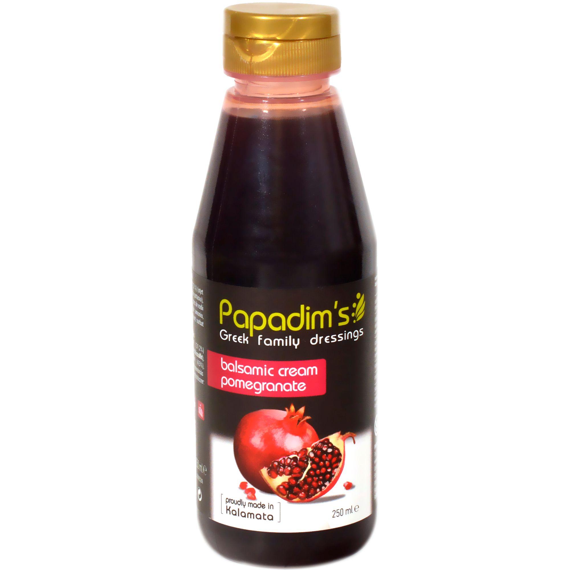 Crema balsamica cu rodii Papadim's 250ml